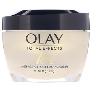 Olay, Total Effects, 7-in-One Anti-Aging Night Firming Cream,  1.7 oz (48 g) отзывы