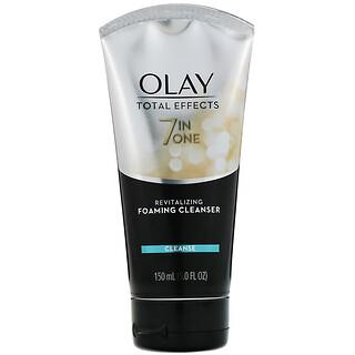 Olay, Total Effects, 7-in-One Revitalizing Foaming Cleanser, revitalisierender Reinigungsschaum, 150ml (5fl. oz.)