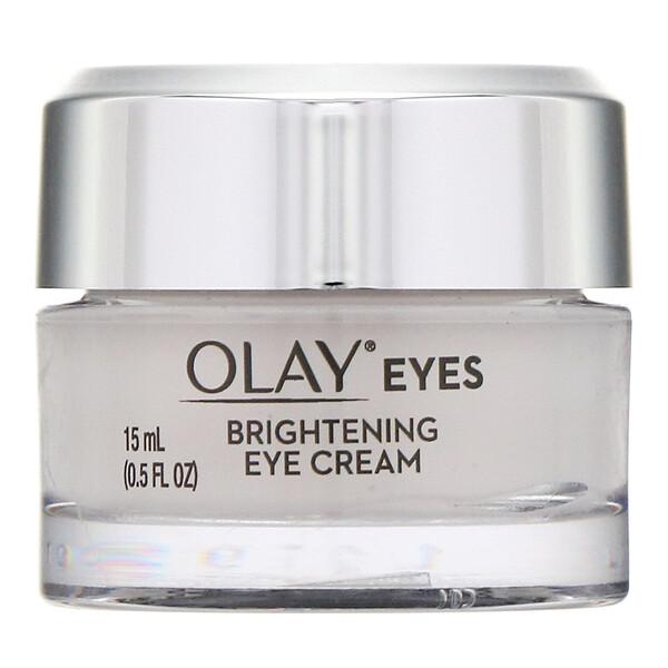 Eyes, Brightening Eye Cream, .5 fl oz (15 ml)