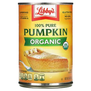 Libby's, Organic 100% Pure Pumpkin, 15 oz (425 g)