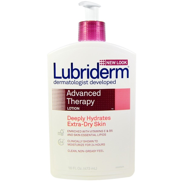 Lubriderm, Advanced Therapy Lotion, Deeply Hydrates Extra-Dry Skin, 16 fl oz (473 ml) (Discontinued Item)