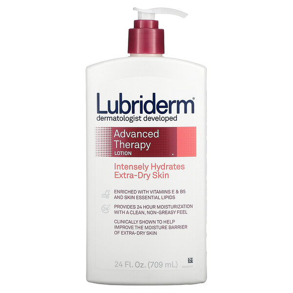 Advanced Therapy Lotion, Intensely Hydrates Extra-Dry Skin, 24 fl oz. (709 ml)