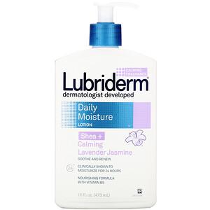 Лубридерм, Daily Moisture Lotion, Shea + Calming Lavender Jasmine, 16 fl oz (473 ml) отзывы