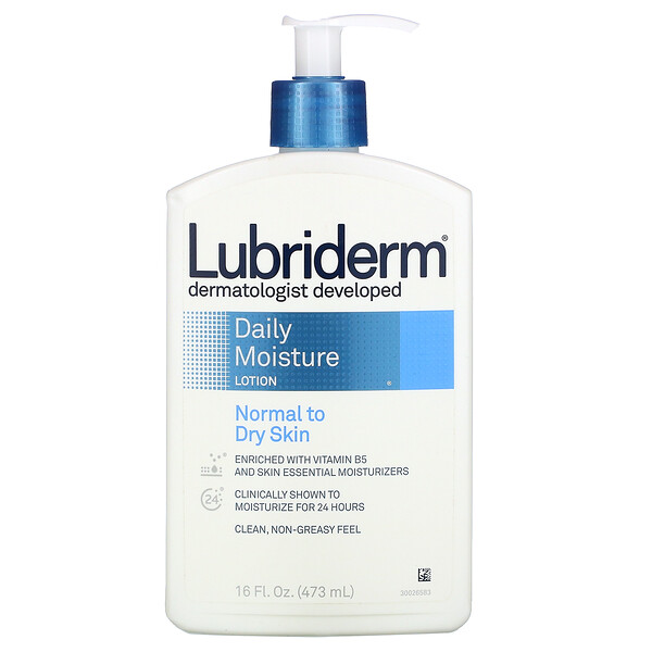 Daily Moisture Lotion, Normal to Dry Skin, 16 fl oz (473 ml)