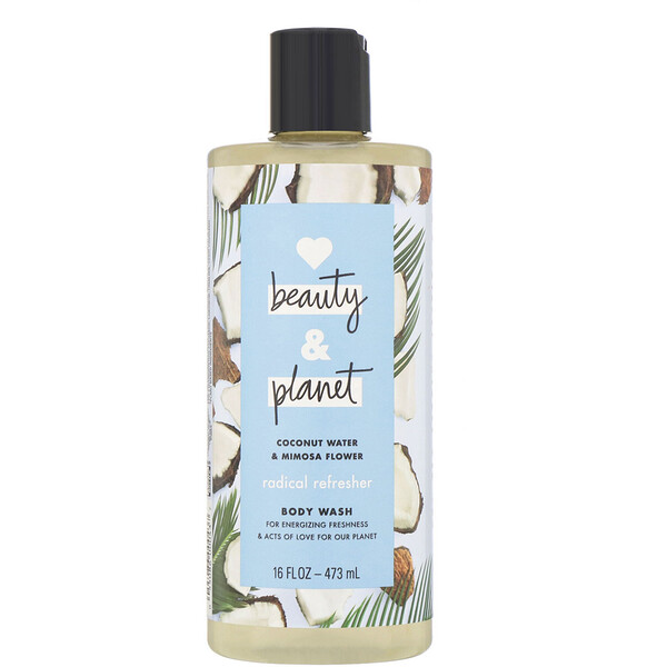 Radical Refresher Body Wash, Coconut Water & Mimosa Flower, 16 fl oz (473 ml)