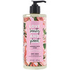 Love Beauty and Planet, Sabonete líquido hidratação plena, manteiga de murumuru e rosas, 473 ml