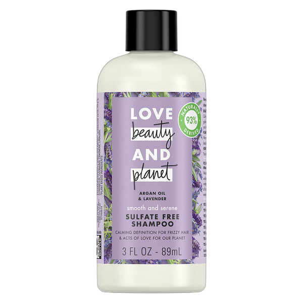 Smooth and Serene Shampoo, Argan Oil & Lavender, 3 fl oz (89 ml)
