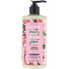 Love Beauty and Planet, Delicious Glow Body Lotion, Murumuru Butter & Rose, 13.5 fl oz (400 ml)
