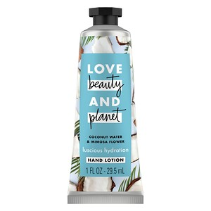 Love Beauty and Planet, Luscious Hydration Hand Lotion, Coconut Water & Mimosa Flower, 1 oz (29.5 ml) отзывы