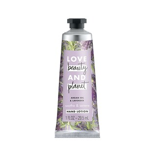 Love Beauty and Planet, Soothe & Serene Hand Lotion, Argan Oil & Lavender, 1 fl oz (29.5 ml)