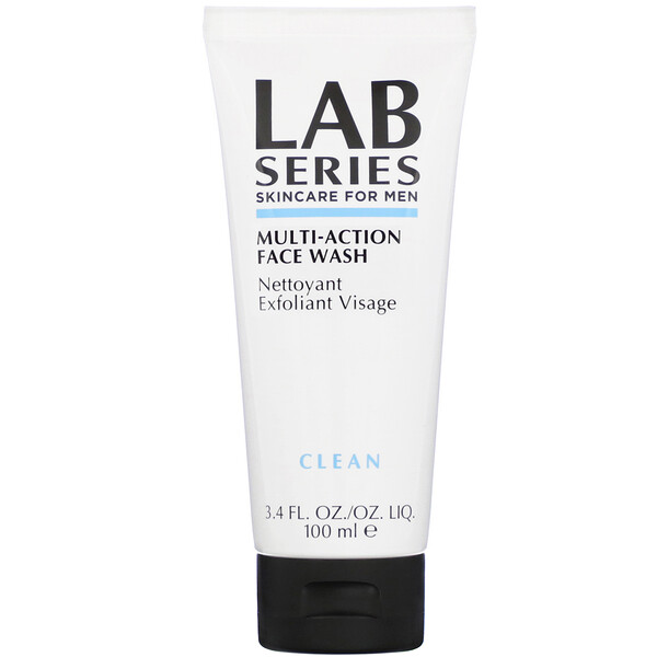 Lab Series, Multi-Action, Face Wash, Clean, 3.4 fl oz (100 ml)