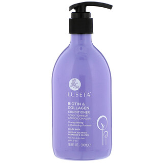 Luseta Beauty, Biotin & Collagen, Conditioner, 16.9 fl oz (500 ml)