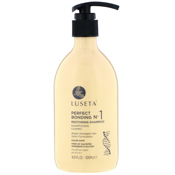 Luseta Beauty, Perfect Bonding No. 1, Restoring Shampoo, 16.9 fl oz (500 ml)