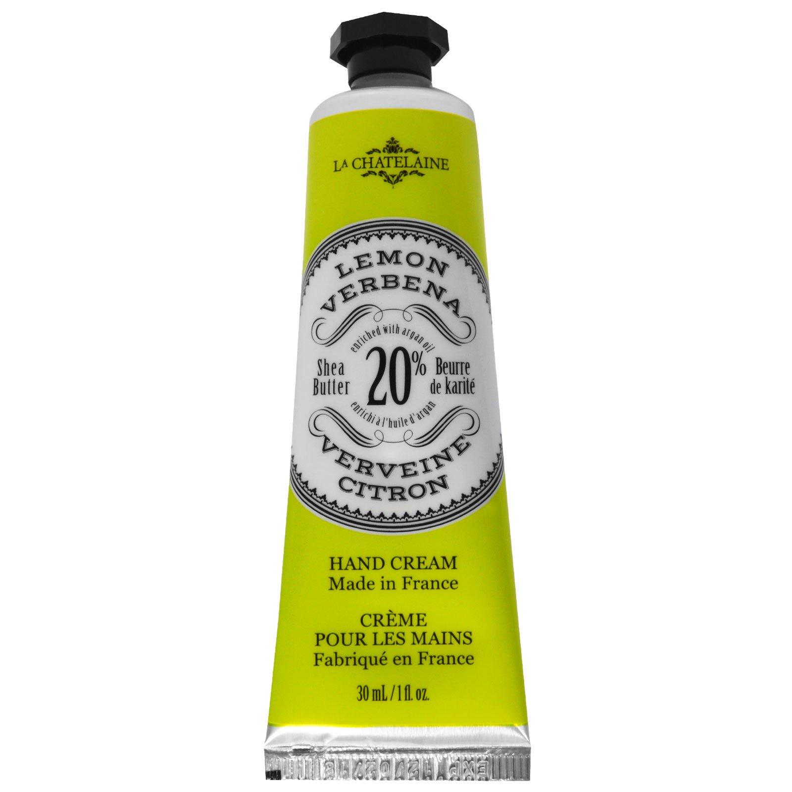 La Chatelaine, Крем для рук, лимон и вербена, 1 жидк. унц. (30 мл)