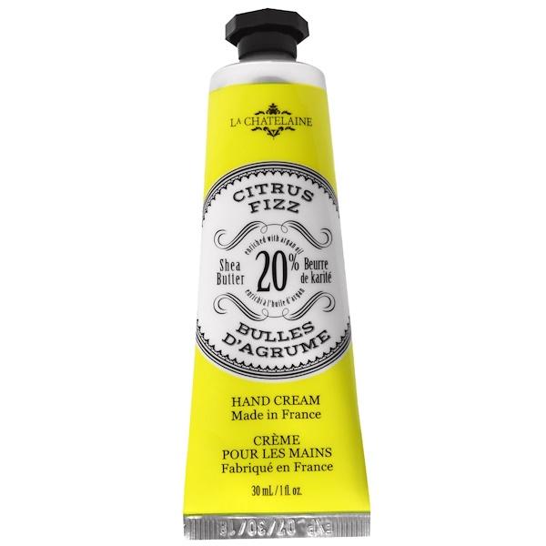 La Chatelaine, 護手霜,柑橘類泡飲香味,1液量盎司(30毫升)