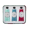 La Chatelaine, Hand Cream Trio, Aqua, 3 - 1 fl oz (30 ml)
