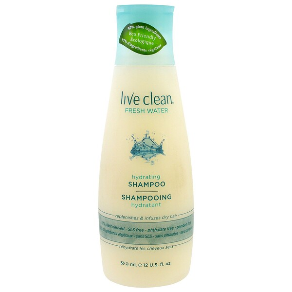 Hydrating Shampoo, Fresh Water, 12 fl oz (350 ml)