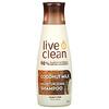 Live Clean, 保湿香波,椰奶,12 fl oz (350 ml)