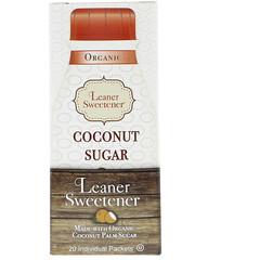 Leaner Creamer, 有機椰子糖,20 粒裝,0.14 盎司(4 克)/粒