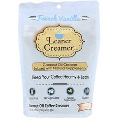 Leaner Creamer, 椰子油咖啡奶精,法式香草味,9.87 盎司(280 克)