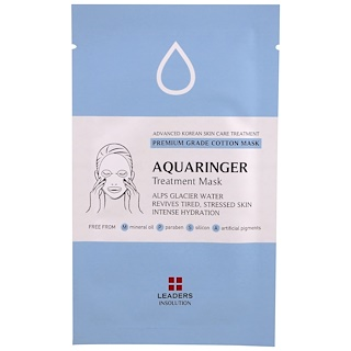 Leaders, Aquaringer Treatment Mask, 1 Mask, 25 ml