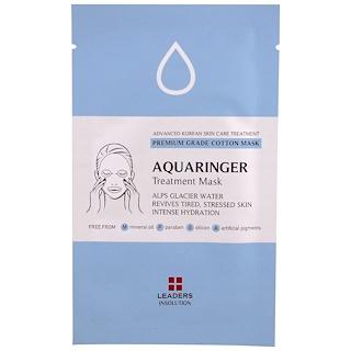 Leaders, Aquaringer Treatment Mask, 1 Mask, 25 ml