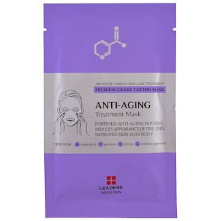 Leaders, Anti-Aging Treatment Mask, 1 Mask