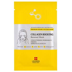 Leaders, Collagen Boosting Renewal Mask, 1 Sheet, 25 ml отзывы