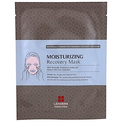 Leaders, Coconut Gel Moisturizing Recovery Mask, 1 Mask, 30 ml
