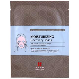 Leaders, Coconut Gel Moisturizing Recovery Beauty Mask, 1 Sheet, 30 ml