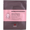 Leaders, Coconut Gel Brightening Recovery Mask, 1 Mask