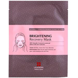 Leaders, Coconut Gel Brightening Recovery Mask, 1 Sheet, 30 ml отзывы
