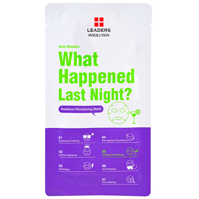Insolution, Daily Wonders, What Happened Last Night, 1 Sheet, 0.84 fl oz (25 ml)