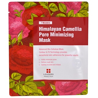 Leaders, Himalayan Camellia Pore Minimizing Mask, 1 Mask