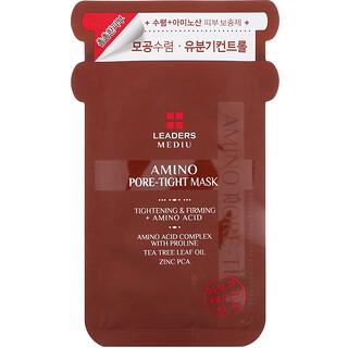 Leaders, Mediu, Amino Pore-Tight Beauty Mask, 1 Sheet, 25 ml
