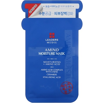 Leaders Mediu, Amino Moisture Mask, 1 Mask (25 ml)