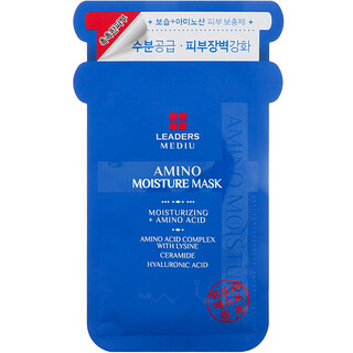 Leaders, Mediu, Amino Moisture Beauty Mask, 1 Sheet, 25 ml