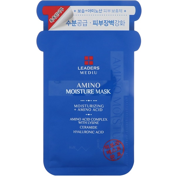 Leaders, Mediu, Amino Moisture Mask, 1 Mask (25 ml)