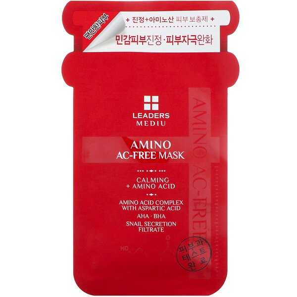 Mediu, Amino AC-Free Beauty Mask, 1 Sheet, 25 ml