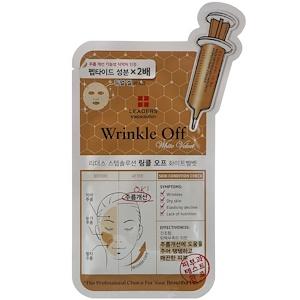 Leaders, Stepsolution, Wrinkle Off White Velvet Mask, 1 Mask, 25 ml отзывы