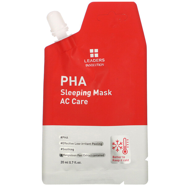 Leaders, PHA Sleeping Beauty Mask, AC Care, 0.7 fl oz (20 ml)