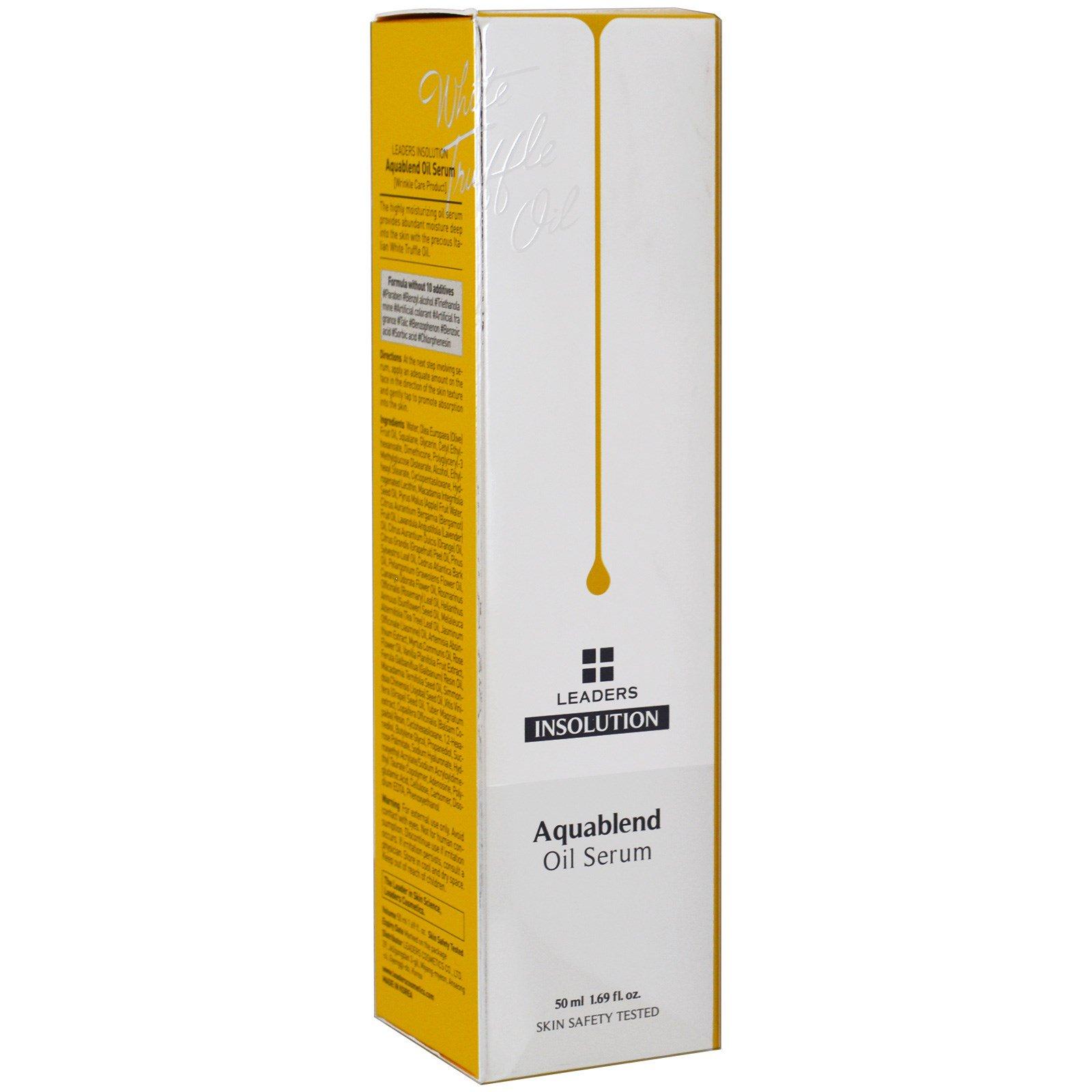 Leaders, Масло-сыворотка Aquablend, 1.69 унции (50 мл)