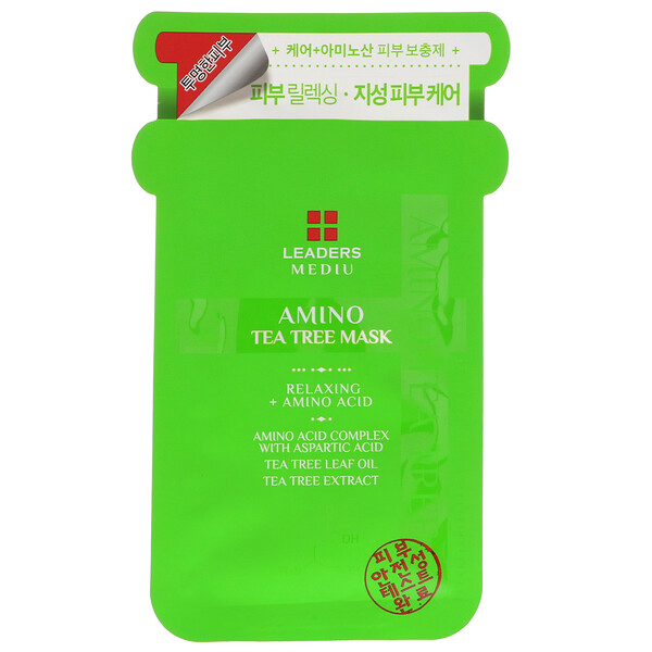 Mediu, Amino Tea Tree Mask, 1 Sheet, 25 ml