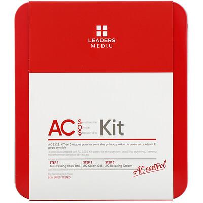 Купить Leaders Mediu, AC S.O.S Kit, набор для ухода за кожей