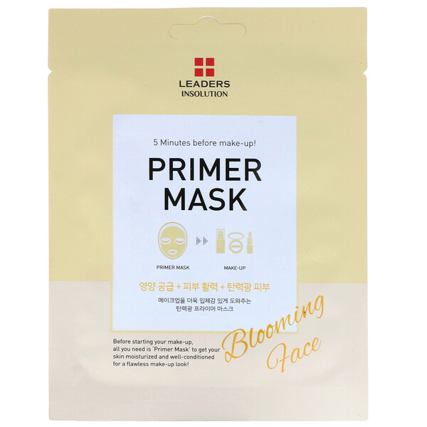 Primer Mask, Blooming Face, 1 Sheet, 0.84 fl oz (25 ml)