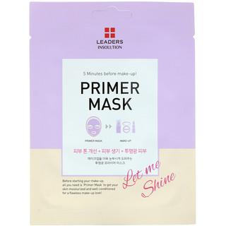 Leaders, Primer Beauty Mask, Let Me Shine, 1 Sheet, 0.84 fl oz (25 ml)
