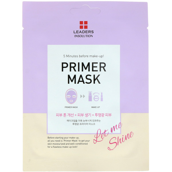 Leaders, Primer Mask, Let Me Shine, 1 Mask, 0.84 fl oz (25 ml)