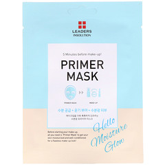 Leaders, Primer Mask, Hello Moisture Glow, 1 Mask, 0.84 fl oz (25 ml)