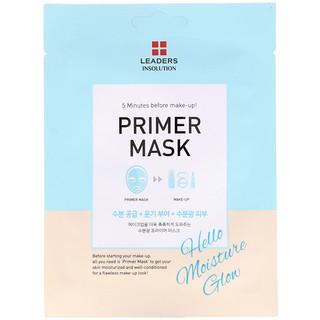 Leaders, Primer Mask, Hello Moisture Glow, 1 Mask, 0.84 fl oz (25 ml)