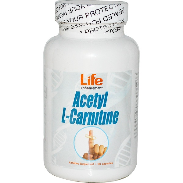 Life Enhancement, Acetyl L-Carnitine, 90 Capsules (Discontinued Item)